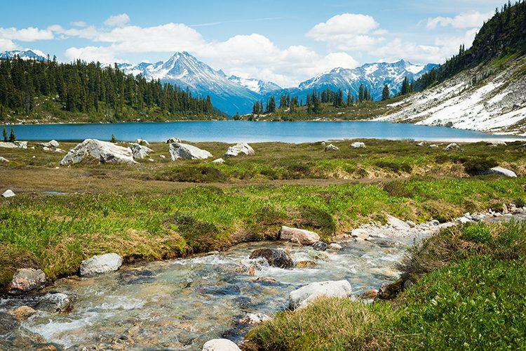 Rainbow Lake in Whistler