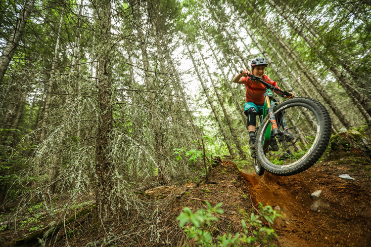 Hailey Elise Rides Whistler North MTB Trails