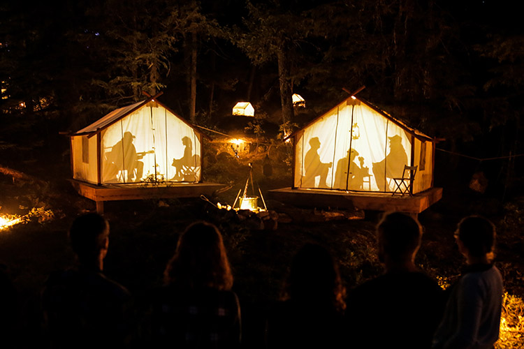Vallea Lumina Whistler by The Adventure Group and Moment Factory
