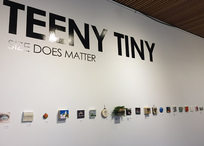 Teeny Tiny Show at The Gallery at Maury Young Arts Centre