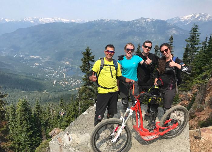 A-ride group shot
