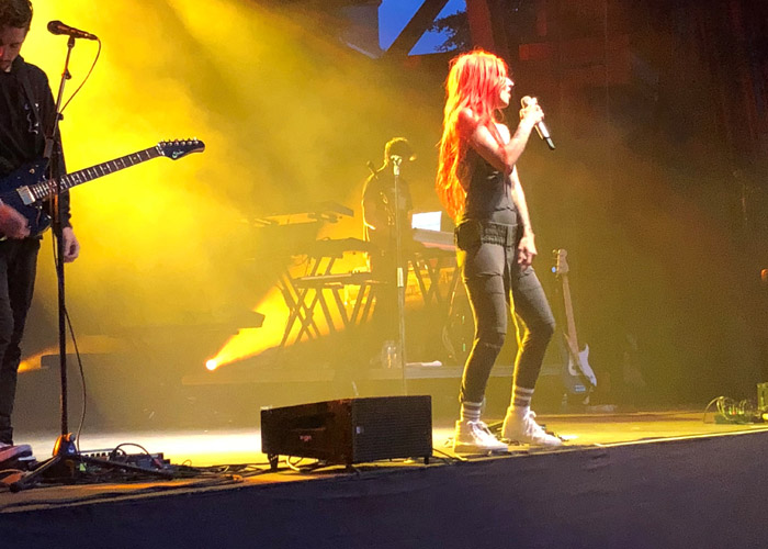 Lights on stage in Whistler