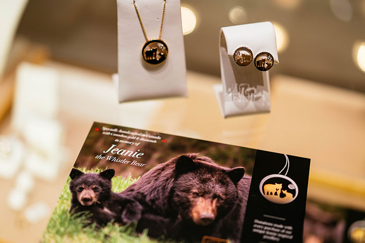 Jeanie the bear jewelry.