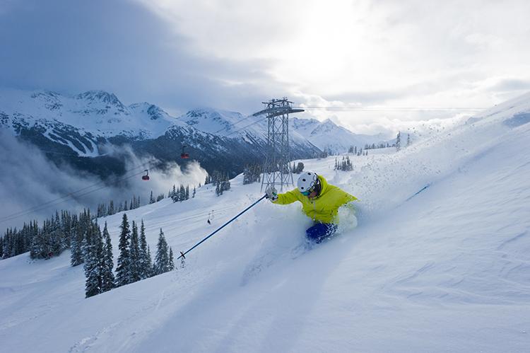 March powder skiing!