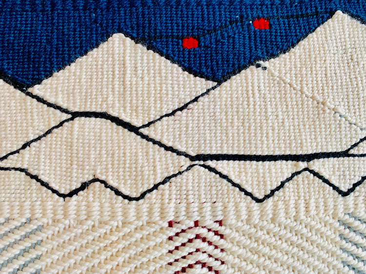 Wool Weaving of the Peak 2 Peak