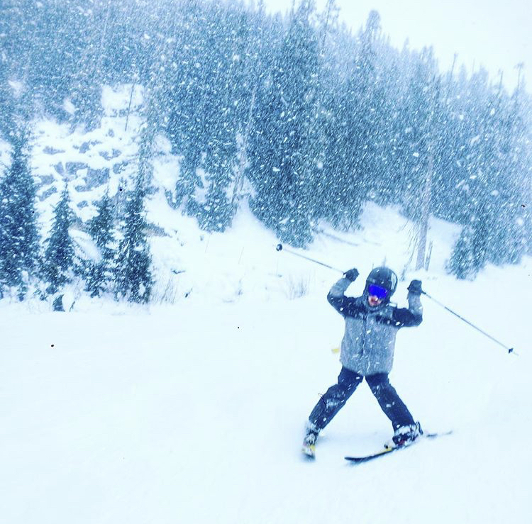 Mid Mountain Skiing for Kids in Whistler