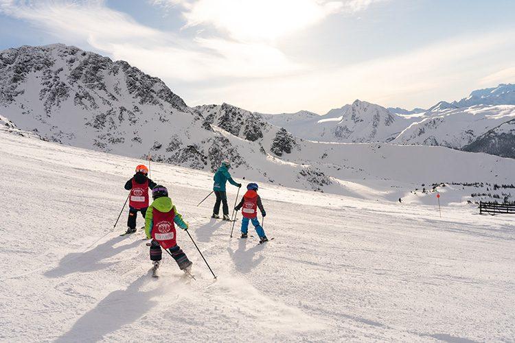 Kid Friendly Ski Runs in Whistler