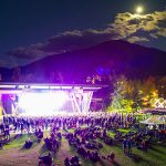 Outdoor concert at Whistler Olympic Plaza