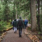 Guests on the Salish Stroll in Whistler