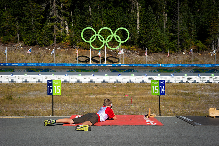Summer Biathlon in Whistler