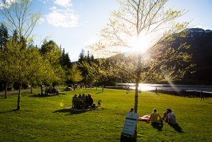 Lakeside Park in Whistler