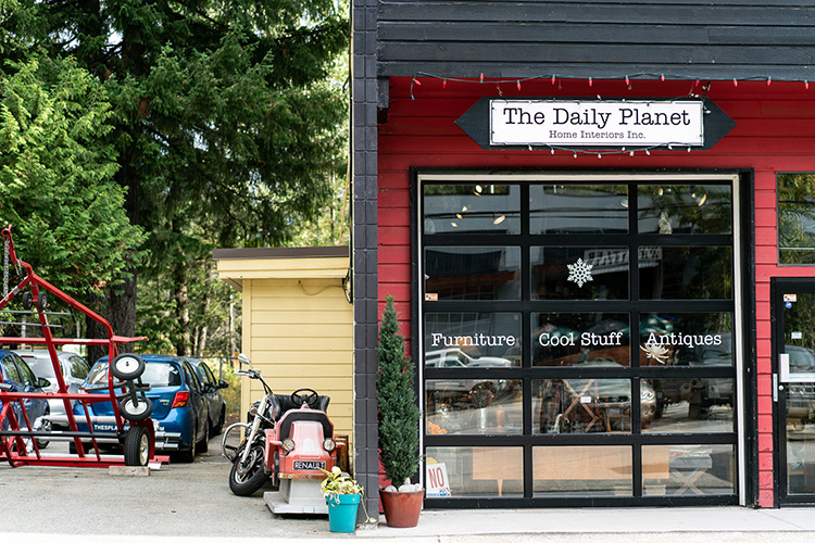 The Daily Planet in Whistler