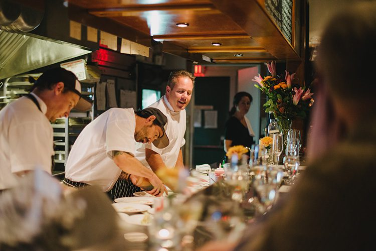 Chefs at Cornucopia Whistler