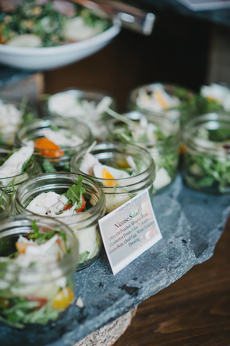Nicoise Salad in a jar