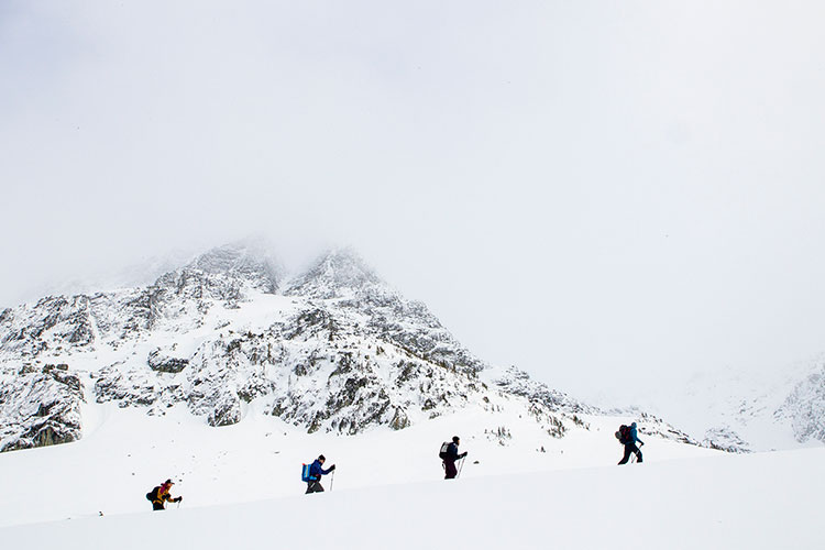 Whistler artists explore the Spearhead Range