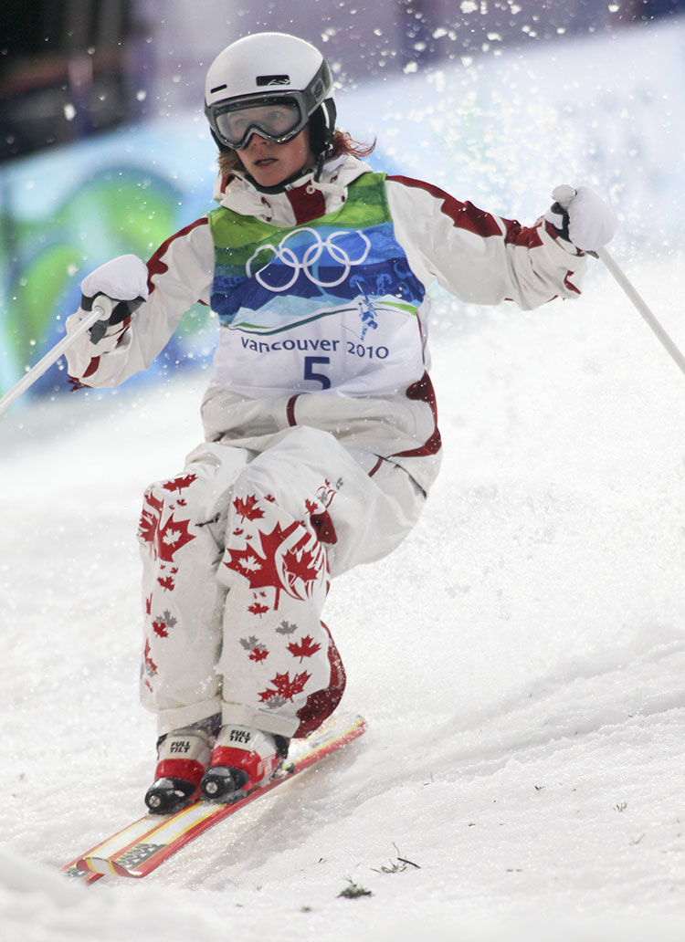 Kristi Richards on course at the 2010 Olympic Winter Games.