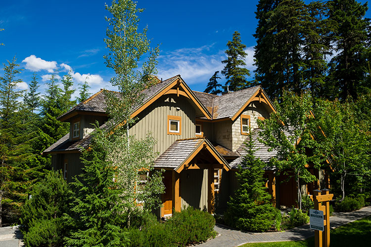 Mountain Star accommodation in Whistler.