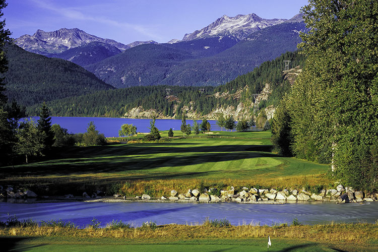 Nicklaus North Golf Course in Whistler