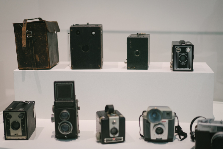 Cameras through the ages on display at the Audain Art Museum