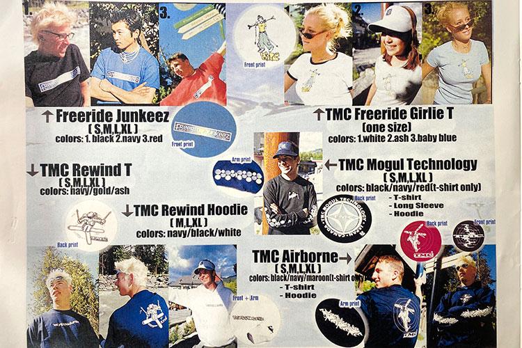 TMC Freeride Store retail catalogue shot.