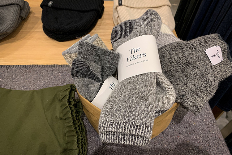 Hiking socks from ecologyst