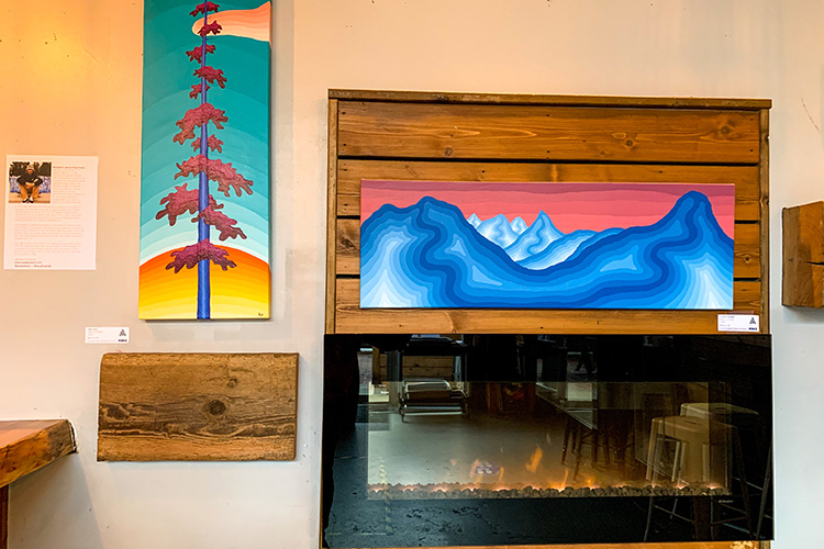 Art at Coast Mountain Brewing