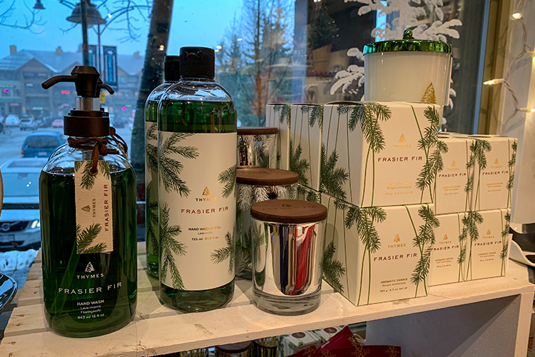 Thymes frasier fir products