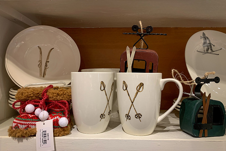 Whistler Kitchen Works ski mugs