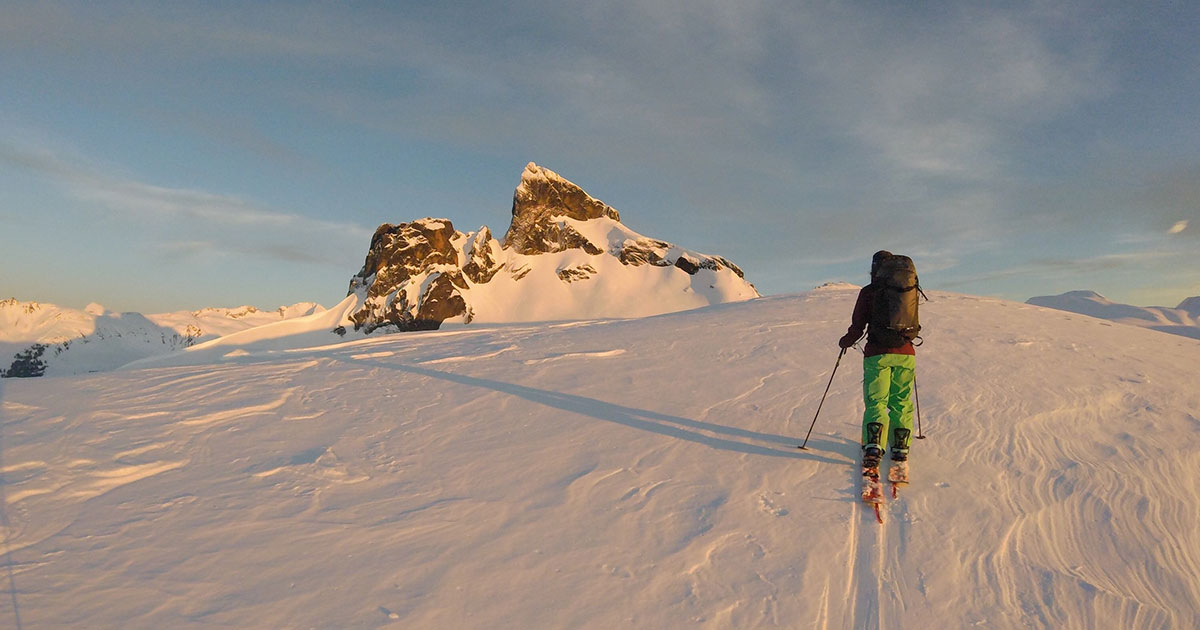 Garibaldi Park And Pemberton Areas Squamish A Guide to Ski Touring in the Whistler