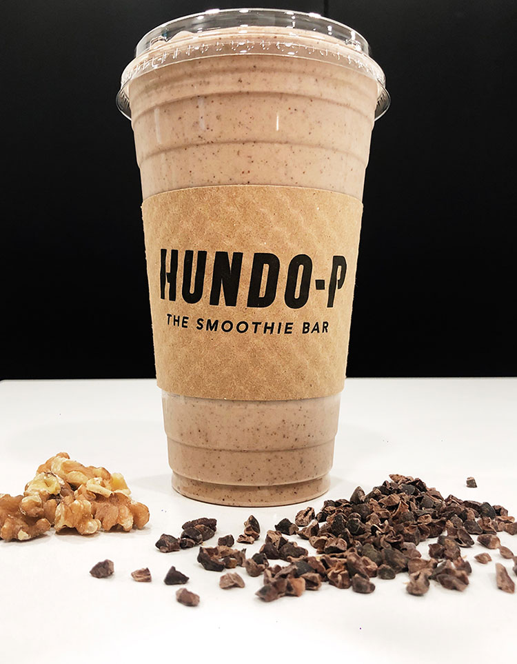 The Nutz and Bolts smoothie from Hundo-P The Smoothie Bar.