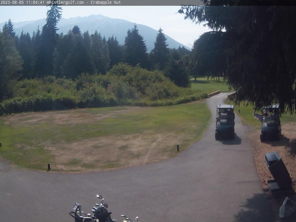 Whistler Golf Course Webcam