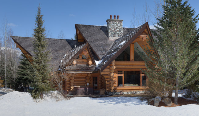 Whistler Bc Majestic Log Home Whistler Accommodations