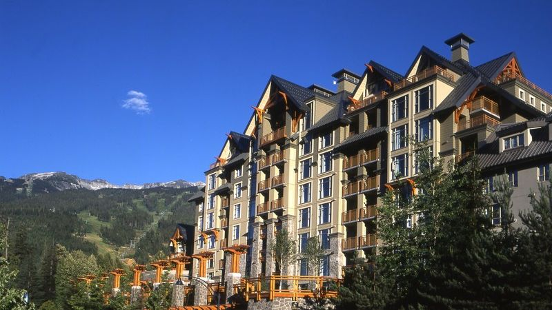 whistler bc pan pacific whistler village centre. Black Bedroom Furniture Sets. Home Design Ideas