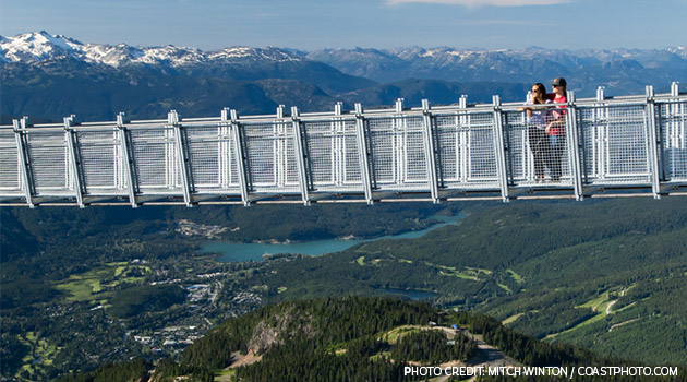 Whistler Mountain Suspension Bridge