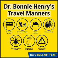 Dr. Bonnie Henry's Travel Manners