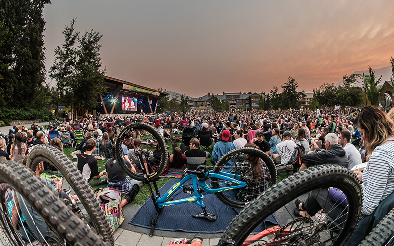 Crankworx Dirt Diaries at Whistler Olympic Plaza
