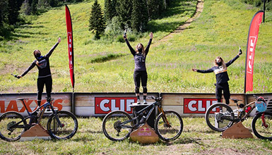 CLIF Crankworx Summer Series Whistler athletes