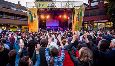 GO Fest Concert in Whistler Village Square