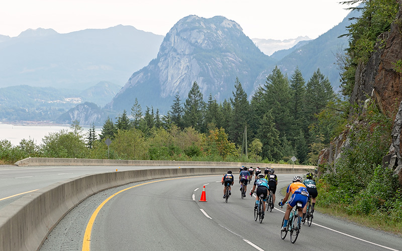 Video from GranFondo Whistler