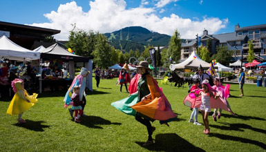 Whistler Children's Festival at Whistler Olympic Plaza