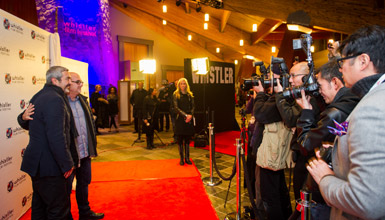 Red Carpet at the Whistler Film Festival