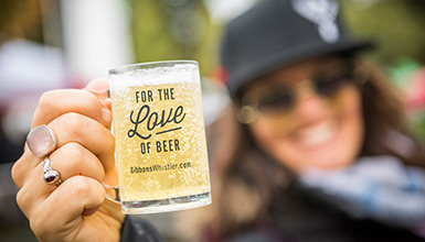 Celebrating all things beer at the Whistler Village Beer Festival.