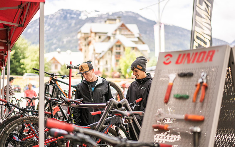ThinkBike Expo in Whistler