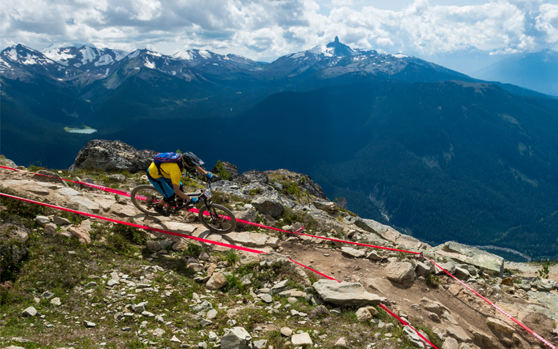 Mountain Bike Park in Whistler
