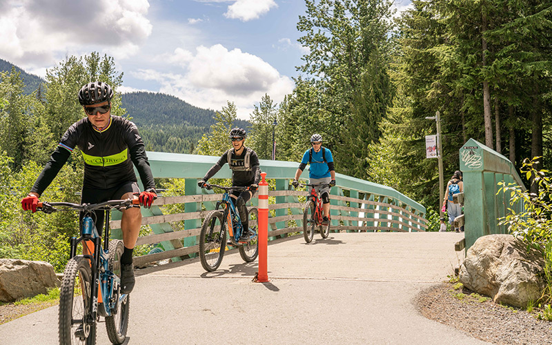 Bike demos in Whistler