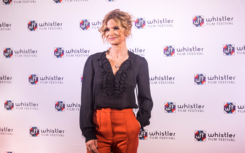 Kyra Sedgwick at Whistler Film Festival