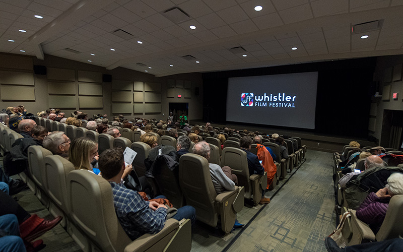 Whistler Film Festival Screening at Rainbow Theatre