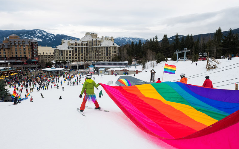 Whistler Pride and Ski Festival Photos