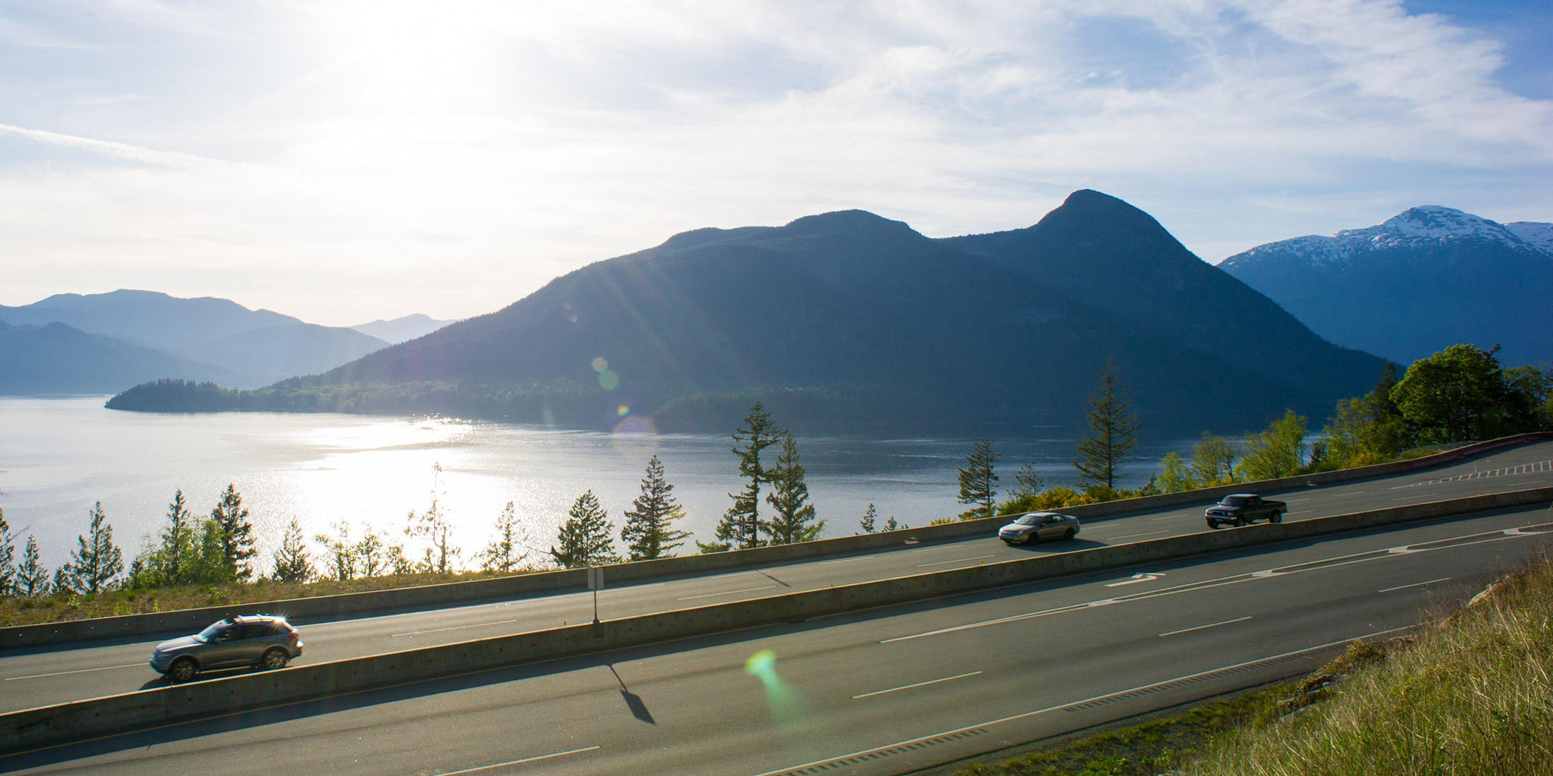 Highway 99 from Vancouver to Whistler