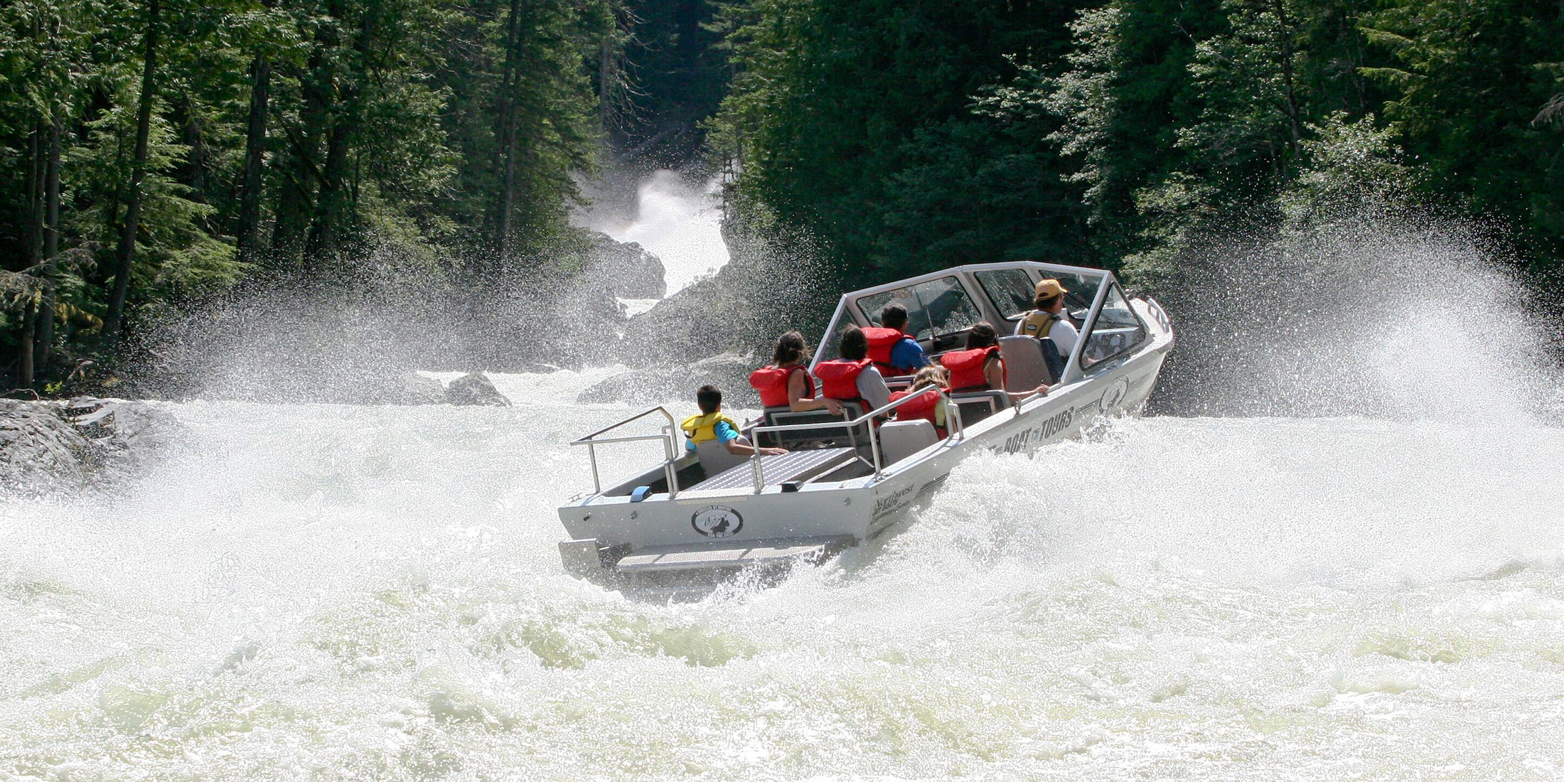 Whistler BC Canada | Jet Boat Tours | Tourism Whistler